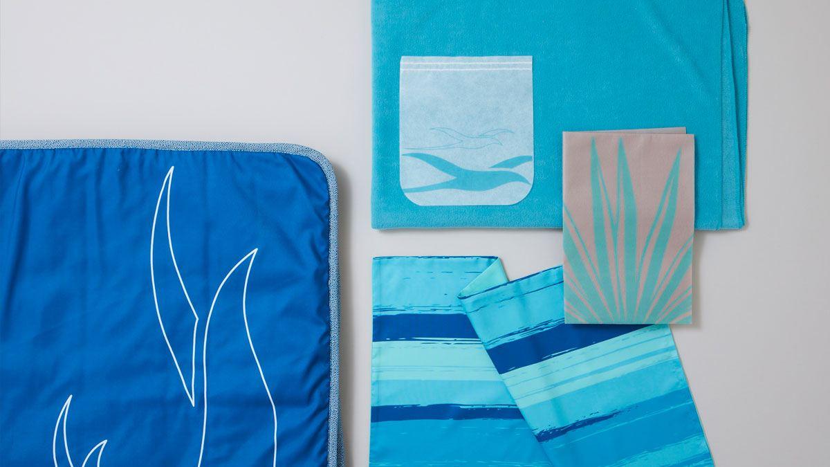 air mauritius in flight textiles