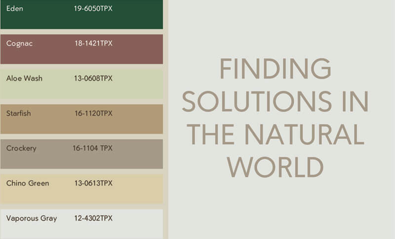 Pure Spiritual Colour Palette at Heimtextil 2020